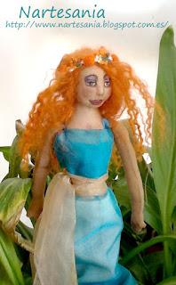 Tutorial muñecas hada pintada