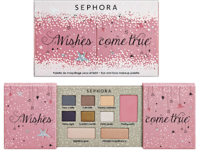 Wishes come true – Eye and face makeup palette sephora