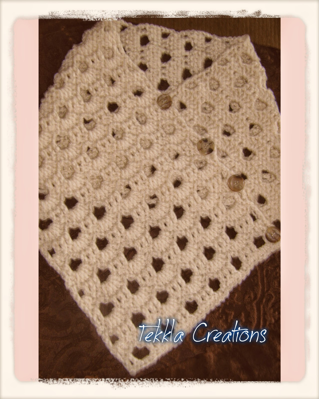 Dew Drop Wrap Free Crochet Pattern : Tekkla Creations: Neck Warmer and Ear Warmer for New Mom!