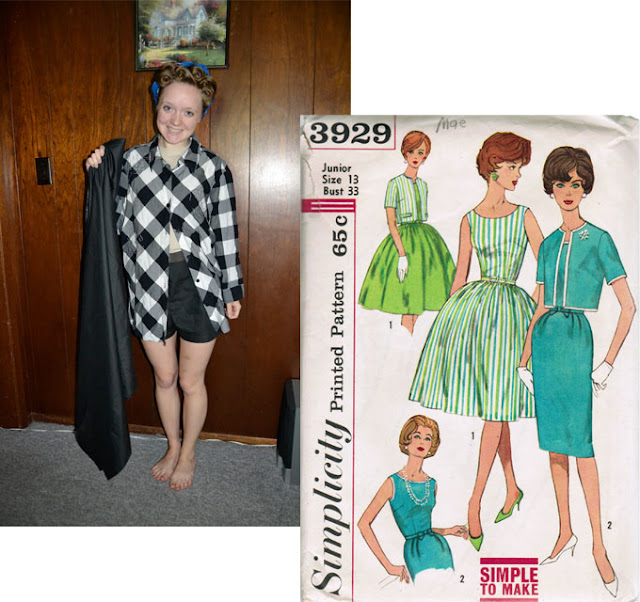 "Flashback Summer: ""Make It Do or Do Without, Tiffany's Style""- Simplicity 3929"