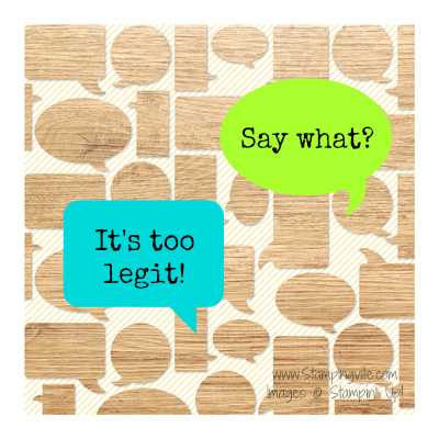 Having fun with the Legit Kit - Digital Download by Stampin' Up!