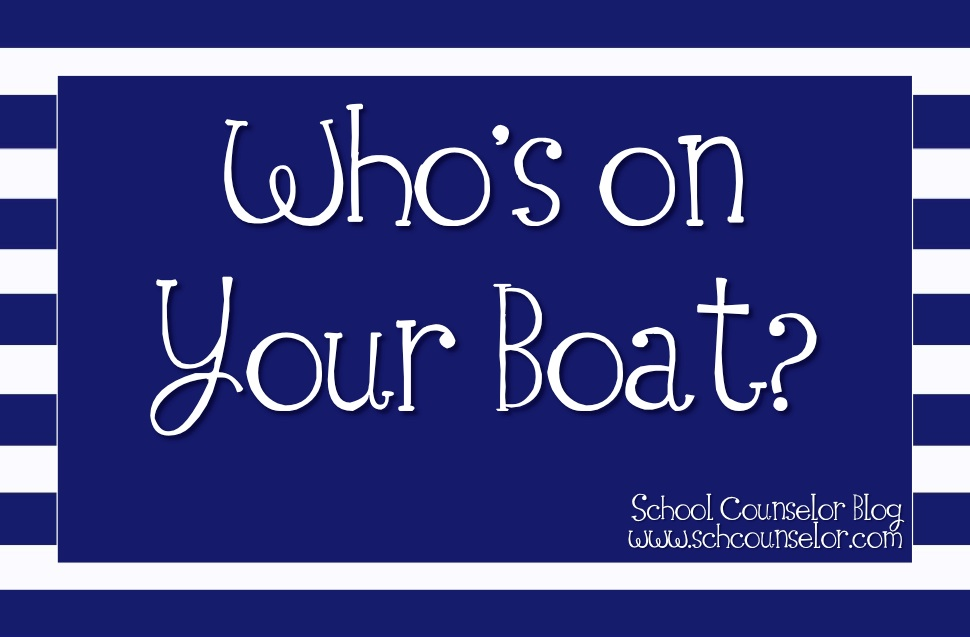 Who's on Your Boat? - School Librarian
