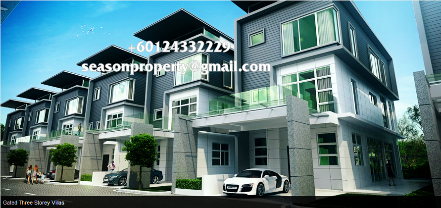 Permai garden 3 storey terrace tanjung bungah ss 39 s for Terrace 9 penang