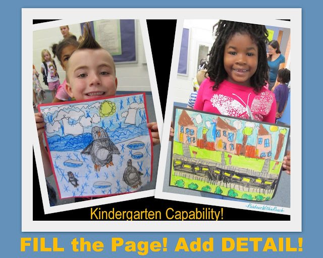 photo of: kindergarten drawings, crayon drawings, kindergarten artists, fine Arts