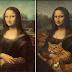 16 pinturas que receberam o acréscimo de um gato gordo