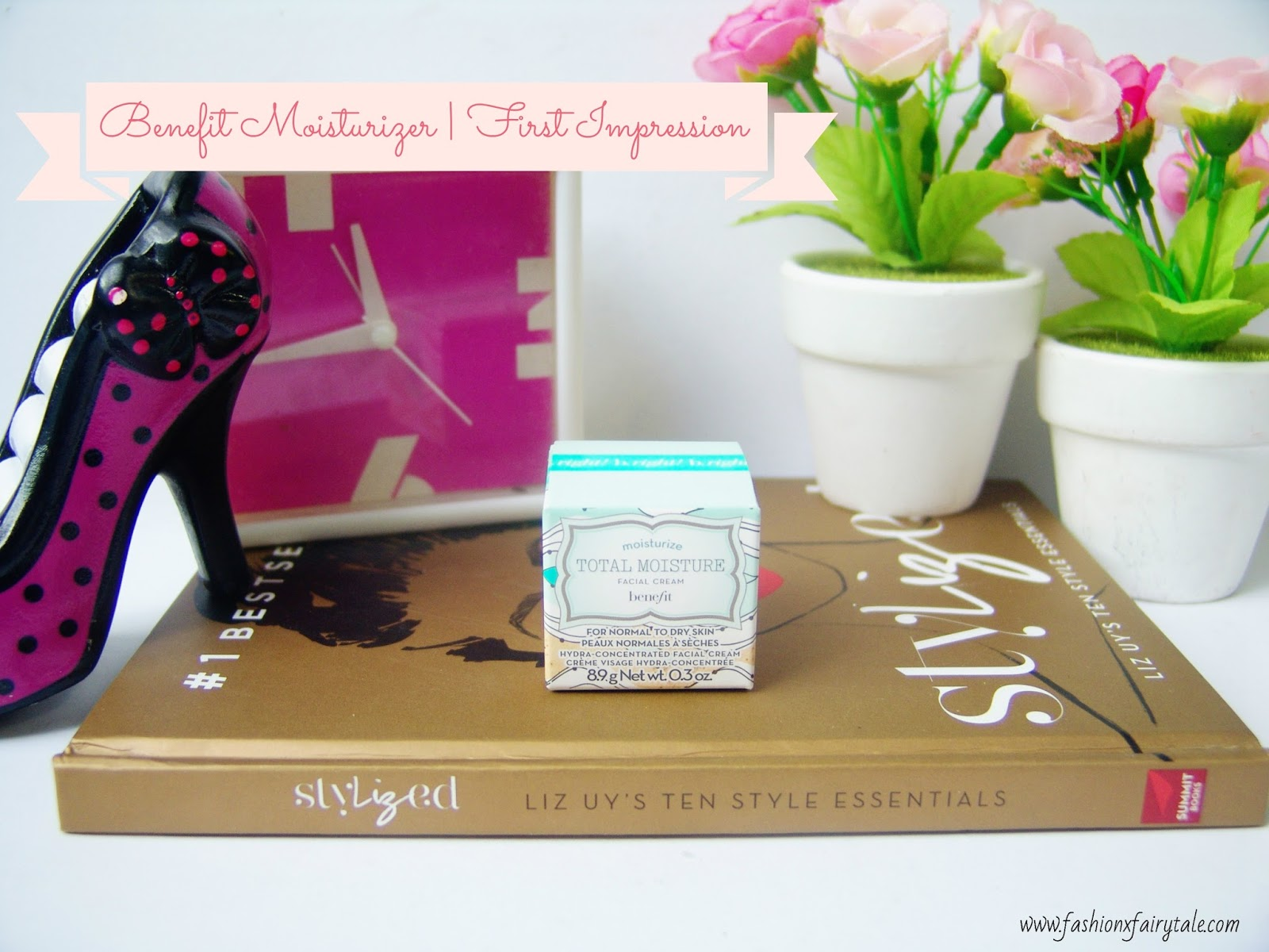 Benefit Total Moisture Facial Cream | First Impression