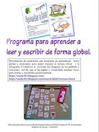 MATERIAL PROCESO LECTOESCRITURA GLOBAL