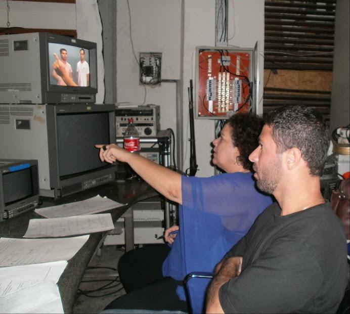 1ª BATERIA DE TESTE MASCULINOS PARA FILME 2 DE JULHO