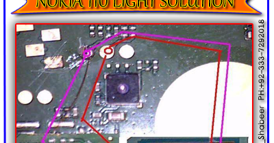 Nokia    110    Lcd And    Keypad    Light Jumper    Diagram    Solution   gsmfixer