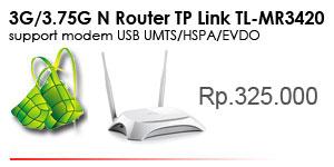 TL-MR3420 modem 3G/3.75G Wireless N Router