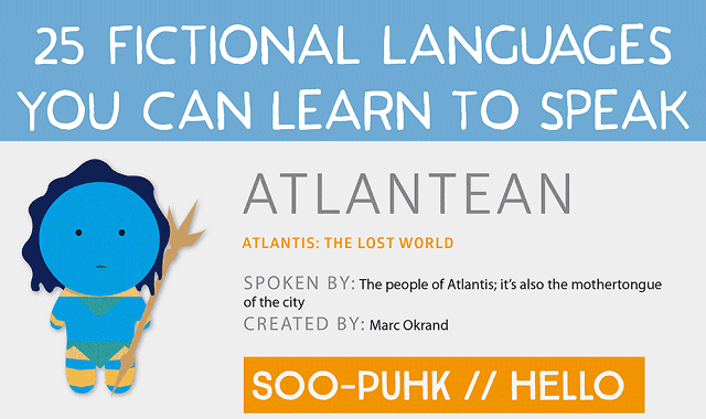 25 Fictional Languages you Can Learn to Speak