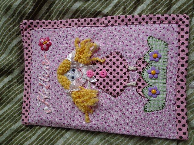 Bolsa De Tecido Infantil : Bolsa de tecido infantil menina kdt artes