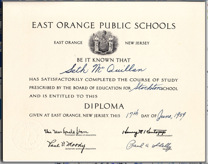 Stockton school may 2011 for 6th grade graduation certificate template