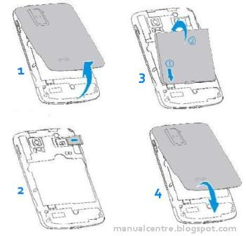 Installing the microSD Card and Battery - Read on page 24