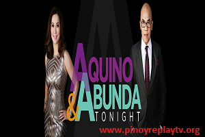 Aquino and Abunda Tonight TV Show