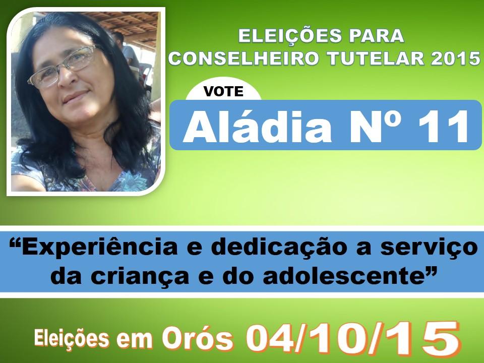 VOTE ALÁDIA NÚMERO 11