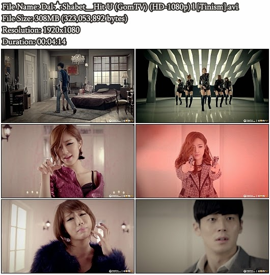 Download MV Dal★Shabet - Hit U (GomTV Full HD 1080p)
