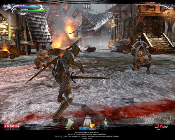 Download joe dever's lone wolf V.2.0 apk + data full android