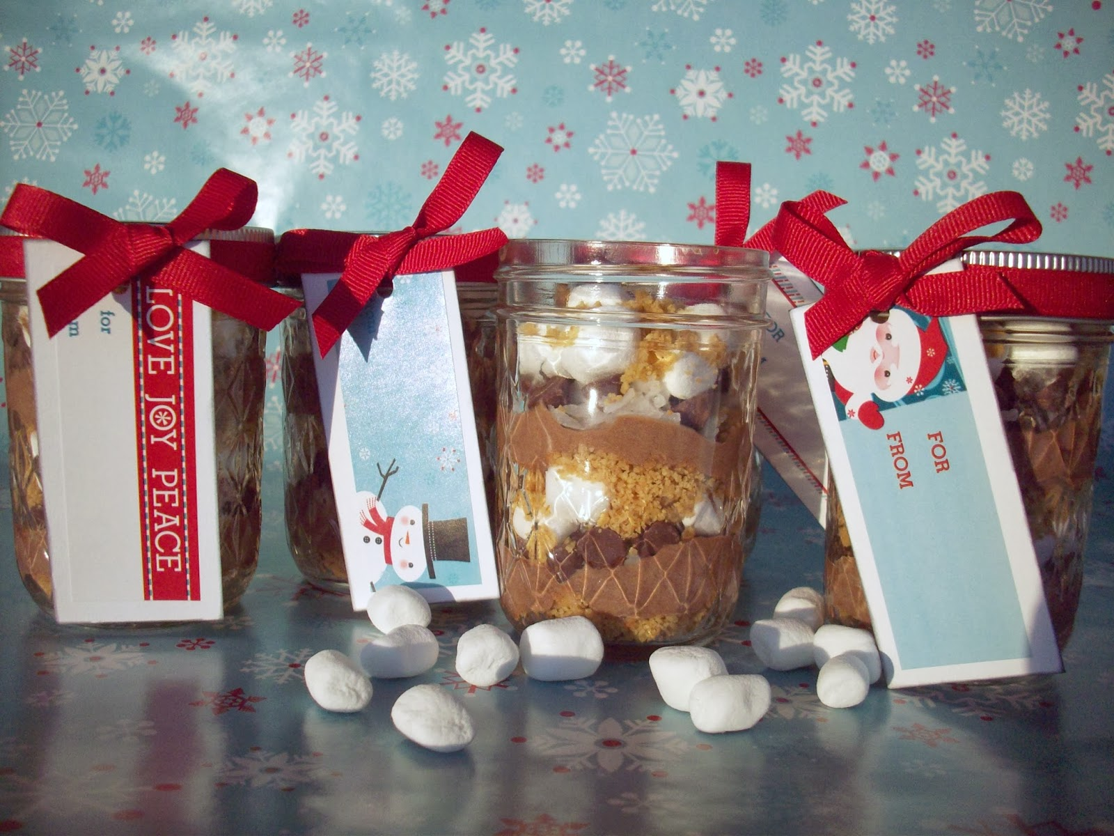 Rocky Road Christmas Pudding Rocky Road Pudding in a Jar