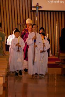 Commencement Mass at Monash University, Clayton Campus, Semester 1 2015