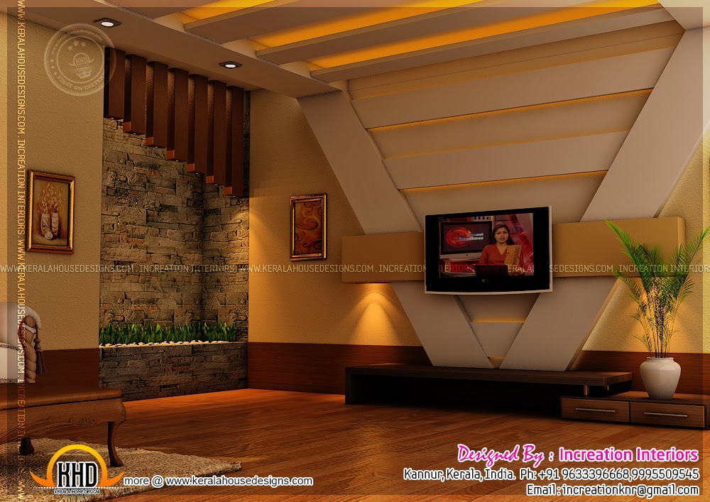 House interior design kannur kerala kerala home design for Kerala homes interior designs