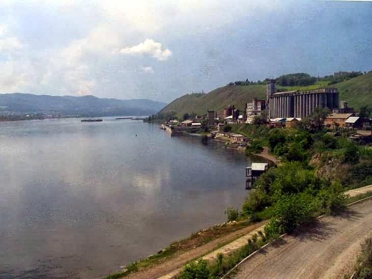 Sungai terpanjang di dunia - sungai yenisei - 5,539 km / 3,445 mil