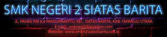 SMK Negeri 2 Siatas Barita - Official Site