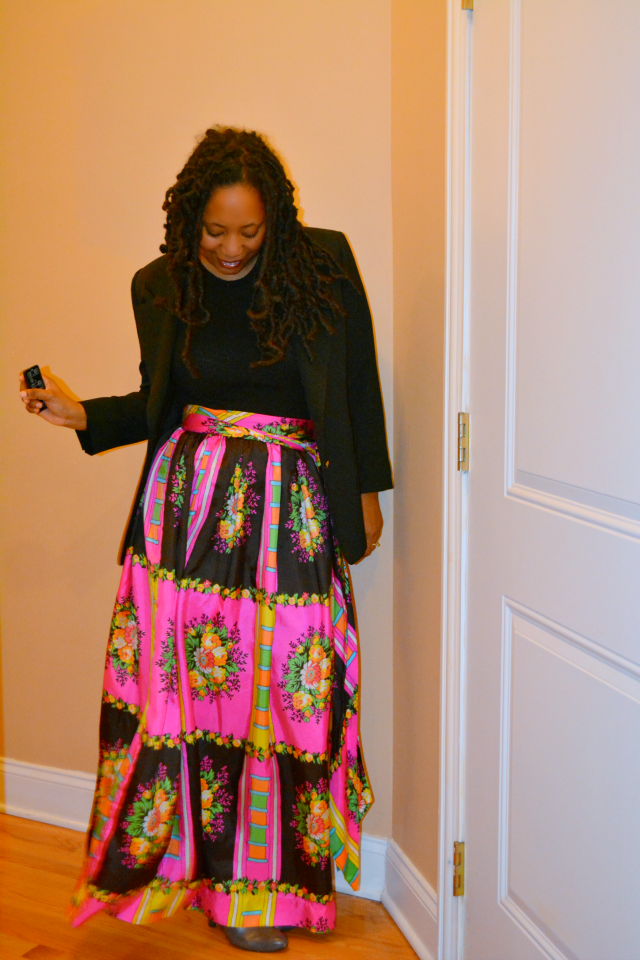 vintage maxi skirt #familymobile #shop #cbias
