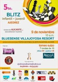 """V Blitz Infantil-Juvenil """"Ciudad de Alicante"""""""