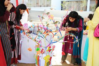 Dawood Public School - Spring Carnival Designing