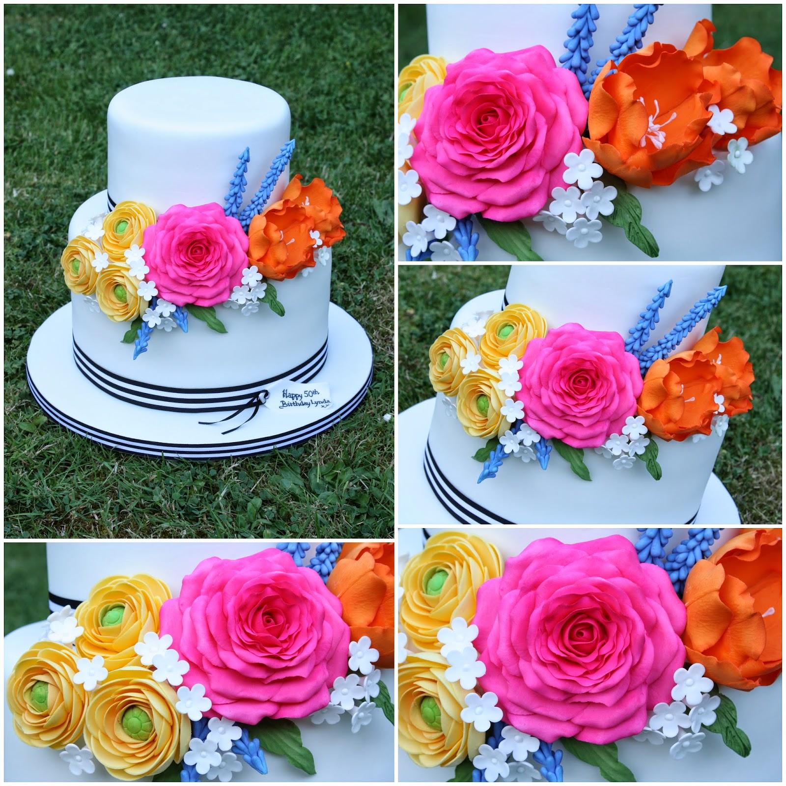 Tiers Tiaras Kate Spade inspired Birthday Cake