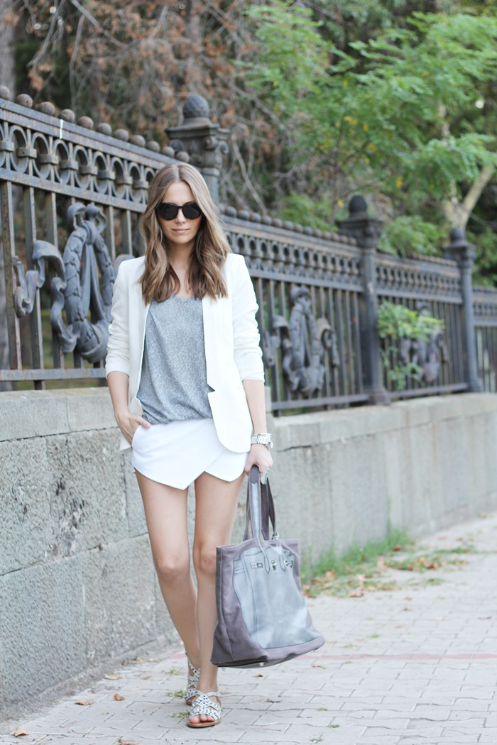 Fashion and style white gray Fashion and style vanja