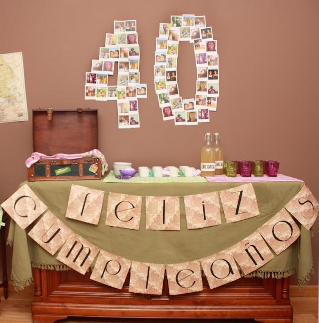 Ii ideas para fiestas y cumplea os paperblog - Ideas para fiesta 40 cumpleanos ...
