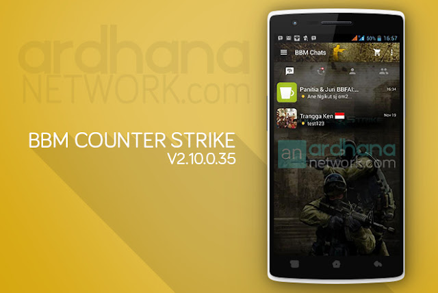 BBM Counter Strike - BBM Android V2.10.0.35