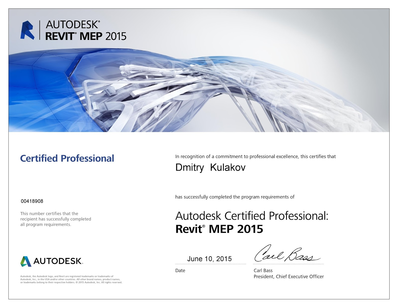 Revit mep for engineer certification is complete autodesk certification is complete autodesk certified professional 1betcityfo Choice Image