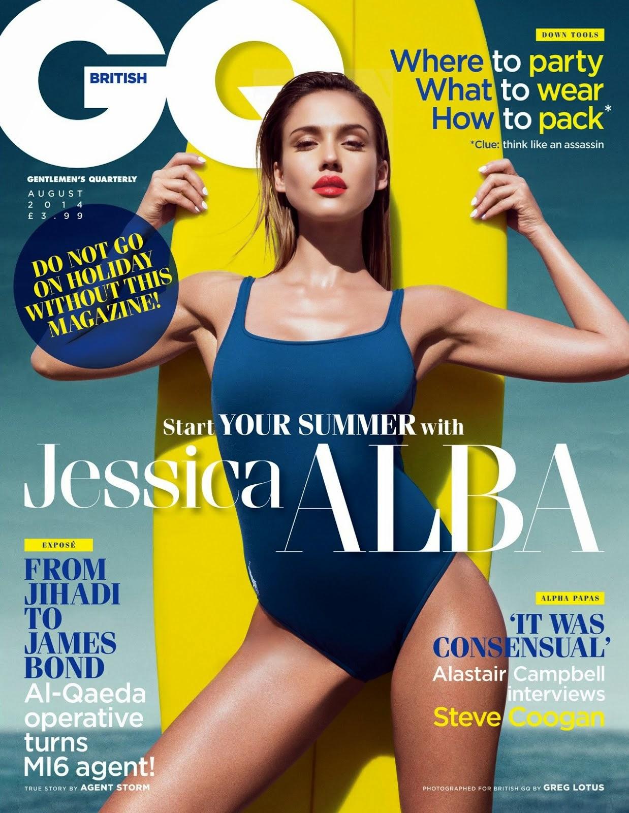 Jessica Alba en GQ 2014