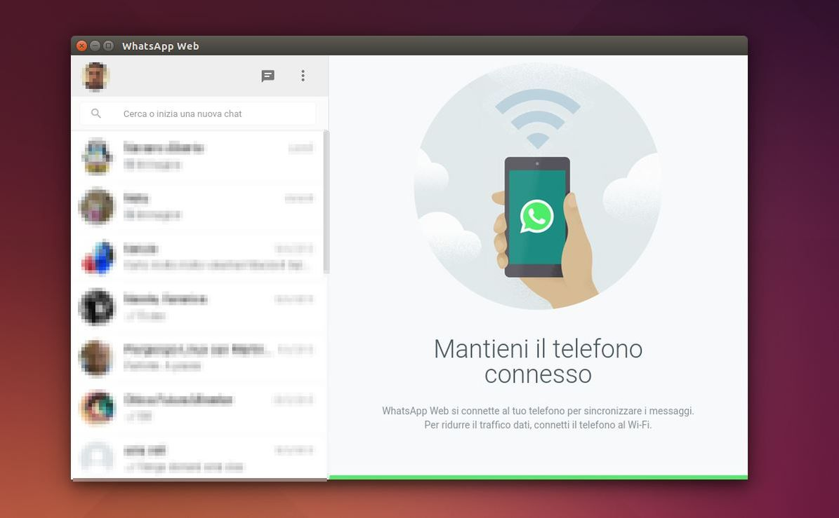 Unofficial WhatsApp in Ubuntu