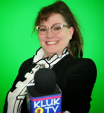 Another Leftover becomes a reporter for KLUK TV's Cooking it up with Betty