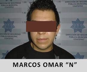 POLICÍA MUNICIPAL DE COATEPEC DETIENE A CONDUCTOR CON PROBABLE MARIHUANA