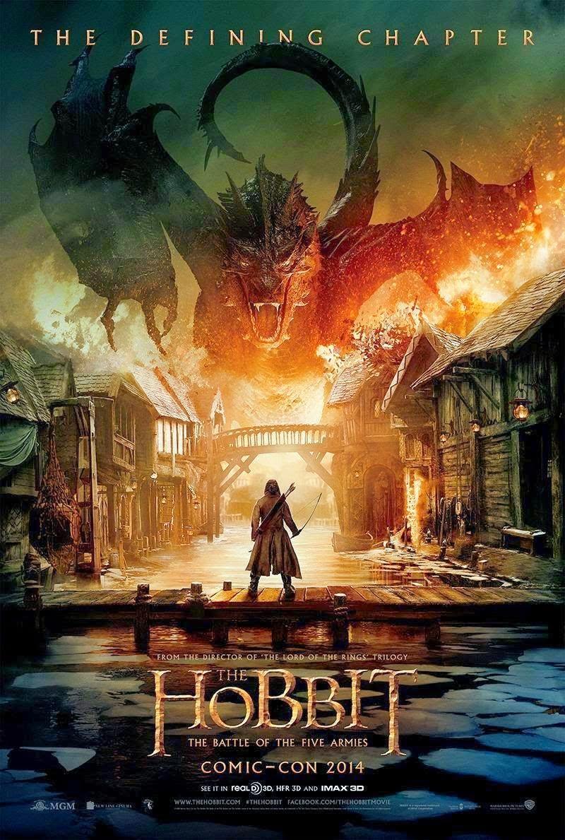 Poster de El Hobbit, La Batalla de los Cinco Ejercitos