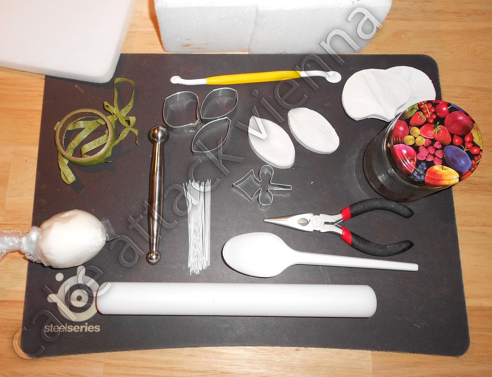 Cake Attack Vienna: Tutorial: Orchidee - Phaleanopsis Orchidee aus ...