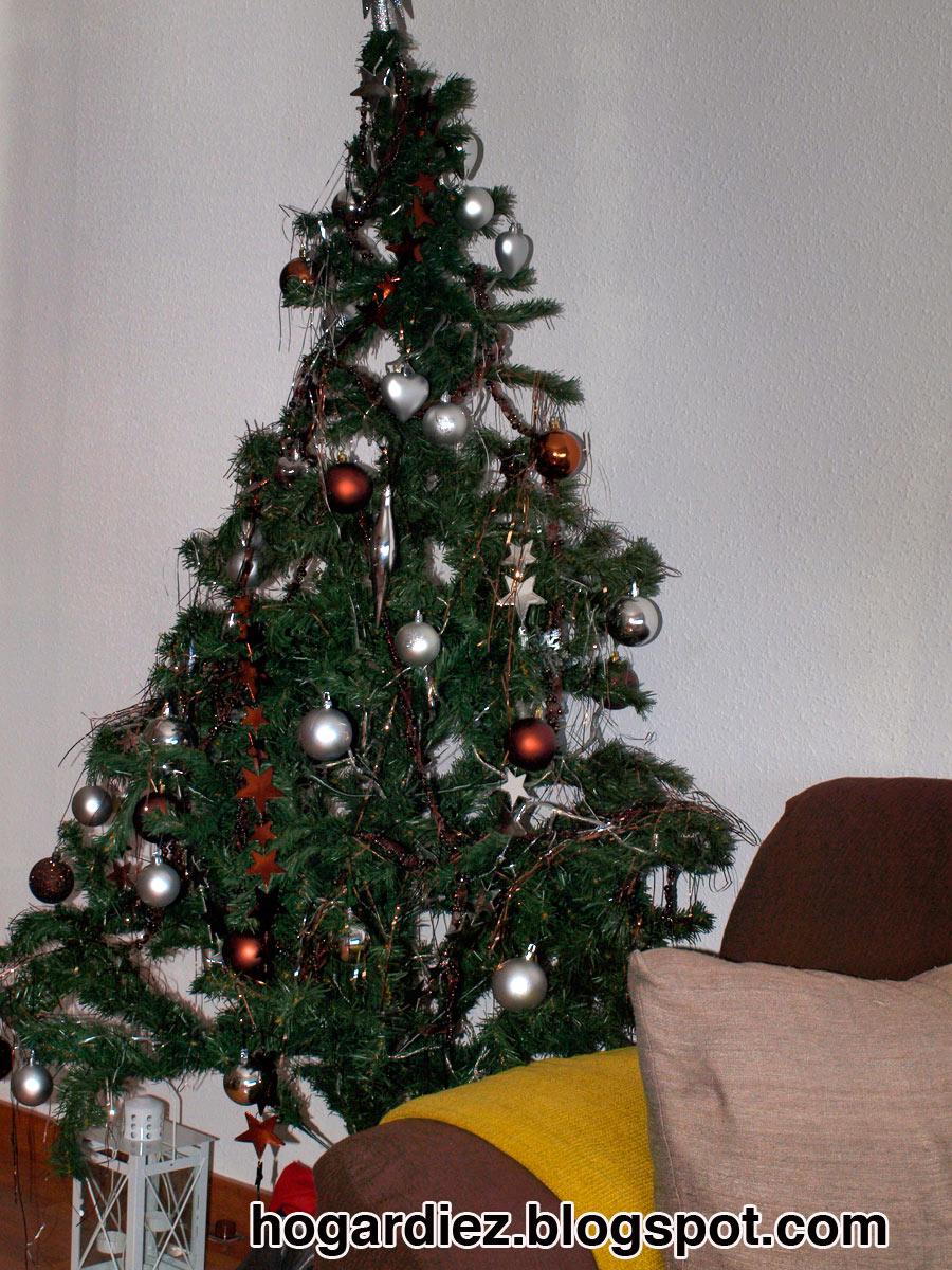 Hogar diez navidad en casa - Arbol tipico de navidad ...
