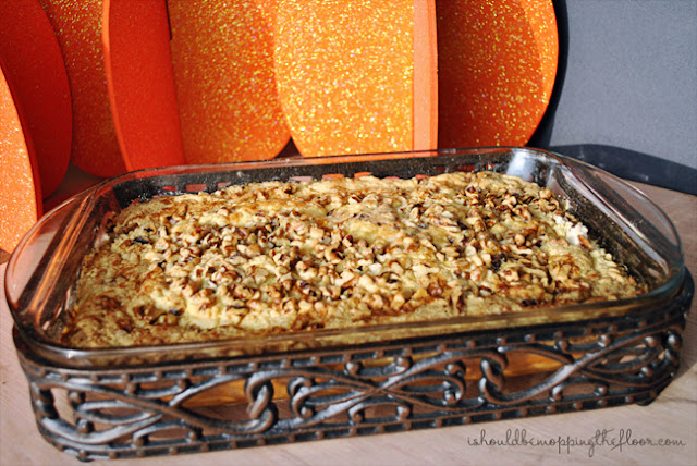 "Pumpkin Dump Cake | An easy fall dessert that tastes amazing...just ""dump"" it all together!"