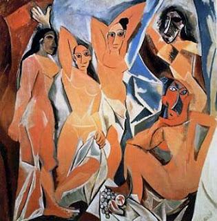 Las señoritas de Avignon de Picasso