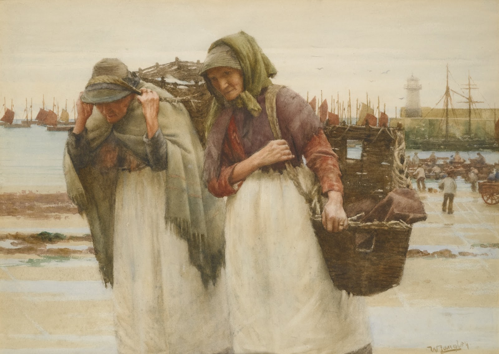 Walter Langley The  readwinners Study
