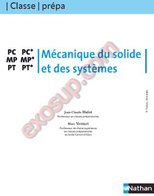 Classe prépa Mécanique du solide et des systèmes