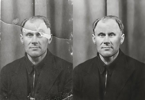 Photograph Restoration Workflow
