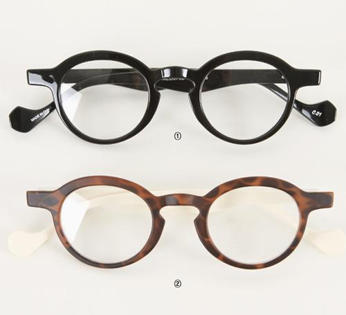 Kpop Glasses Frame : [Miamasvin] Round Frame Glasses KSTYLICK - Latest Korean ...