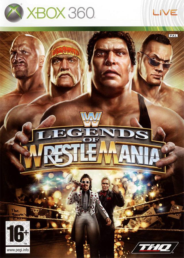 WWE Legends Of Wrestlemania [Xbox 360]