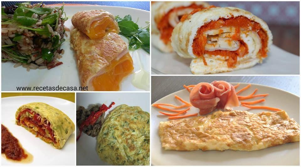 Tortilla francesa cinco recetas cocina for Recetas facilisimo